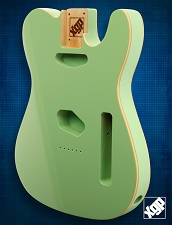 XGP Premium Alder Double Bound TE Body Surf Green