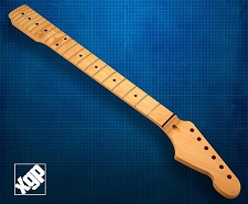 XGP Premium Hard Rock Maple 22 Fret Strat Neck, Maple Fingerboard