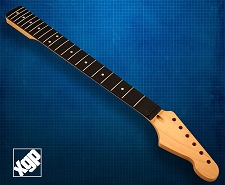 XGP Premium Hard Rock Maple 21 Fret Strat Neck, Rosewood Fingerboard