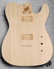 Solid White Poplar Body,No Finish