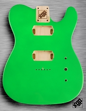 Tele Body cut for 2 Humbucker, White Poplar, Jem Green