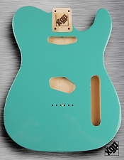 XGP Professional Single-Cutaway Body, Tropical Turquoise