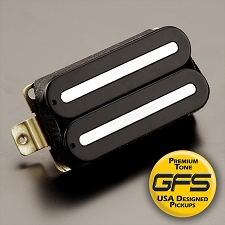 KP - GFS Power Rails - Crushing power, Killer Tone - Black-Chrome Rails - Kwikplug™ Ready
