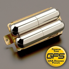 GFS Pro-Tube Lipstick Humbucker Pickup- Cool Chimey Tone, Chrome