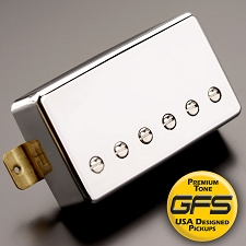 Crunchy Pat High Output Humbucker, Chrome