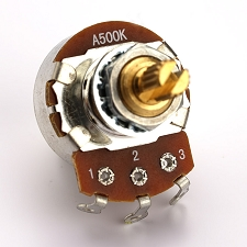 XGP Custom Taper Split Shaft Pot A500K- Humbucker Volume- Our Best!