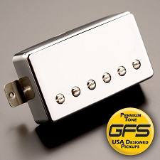 Alnico Fat Pat Boutique Humbucker, Chrome