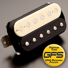 KP - Alnico Fat Pat Boutique Humbucker, Zebra - Kwikplug™ Ready