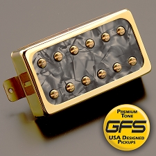 Dream 180 Vintage-Voiced Humbucker Black Pearl Gold Bridge Position
