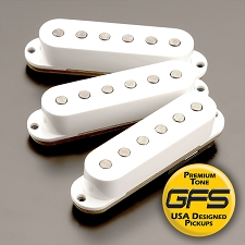 KP - 60's-70's Grey Bottom Non Stagger Strat - More Power!! More Tone!! - Kwikplug™ Ready