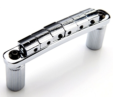 XGP SOLID BRASS Chrome locking Tuneomatic bridge, locking Saddles-