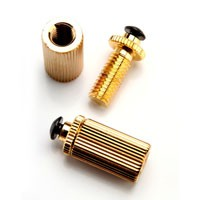 Locking Gold Plated Screws/Studs