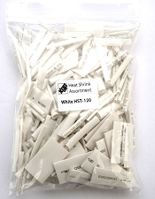 XGP 285 pc. Heat Shrink Tubing Assortment- WHITE- Made for Guitar projects!
