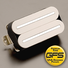 KP - GFS Crunchy Rails- Our Hottest- Modern Metal Power- White - Kwikplug™ Ready