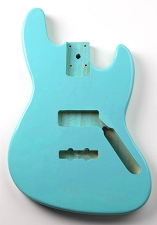 Jazz Bass Lightweight Body Daphne Blue Finish