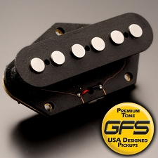 KP - Alnico Fatbody 10K OVERWOUND Tele Bridge Pickup - Kwikplug™ Ready