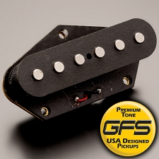 KP - Neovin Power Rock Overwound Noiseless Bridge Pickup for Telecaster - Kwikplug™ Ready