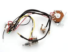 Kwikplug 2 HB COIL TAP Wiring Harness, Fits Strat®/Ibanez®/Jackson®- PRE-SOLDERED Drop-In