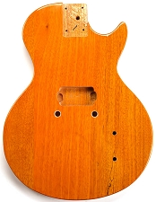 LP Junior Body- SOLID Mahogany-Korina FINish - Bolt On  Free Rear Plate!   Single Pickup.  -SLIGHT BLEMS