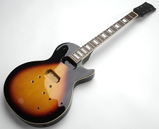 Glued-In Neck LP Style- Fully Assembled and Finished - Vintage Sunburst