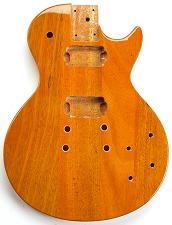 LP Special Body- SOLID Mahogany- Bolt On Korina FInish Free Rear Plates! - SLIGHT BLEMS