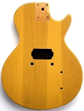 LP Junior Body- SOLID Mahogany- TV Yellow - Bolt On  Free Rear Plate!   Single Pickup.