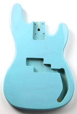 P Bass Lightweight Body Daphen Blue Finish
