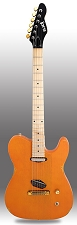 Slick SL50 Aged Tennessee Orange  Dual Single-Coil Pickups Maple Fingerboard