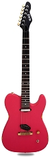 Slick SL50 Aged Coral Red Dual Single-Coil Pickups