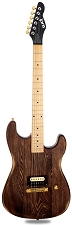 Slick SL54 Aged Brown Single Humbucker Maple Fingerboard