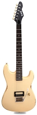 Slick SL54T Single Pickup Tremolo SOLID Ash Body Vintage Cream