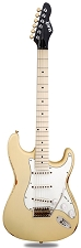Slick SL57 Aged Vintage Cream Ash Maple Fingerboard Alnico Pickups