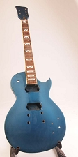 Set-Neck Special - Finished, Metallic Blue, Flamed,