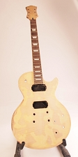 Set-Neck Special - Unfinished, Solid Mahogany Body, Flamed Top,