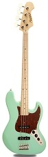 JB Bass Alder Body, Surf Green, Maple Neck with Maple Fingerboard