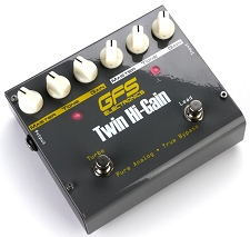 Twin Hi-Gain Dual Sound Pedal- Channel Switching Recto-Tube sound!