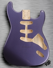 XGP Professional Strat® Body Cobalt Blue Metallic Hardtail!