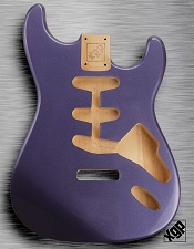 XGP Professional Strat Body Cobalt Blue Metallic