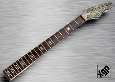 XGP Professional Single-Cutaway Style Neck Rosewood REAL Abalone SHELL