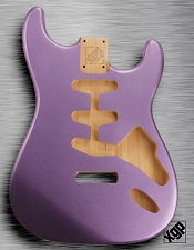 XGP Professional Double Cutaway Body Purple Haze Metalflake