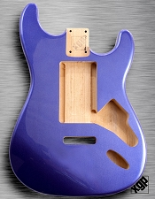 XGP Cobalt Blue Metalflake Single-Cutaway Body