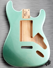 XGP Sage Green Metalflake Strat® Body