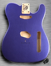 XGP Cobalt Blue Metallic Vintage Spec Tele Body