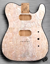 XGP REAL PEARL SHELL Single-Cutaway Style Body 2 Humbuckers