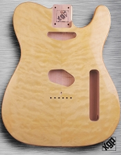 XGP Professional Tele Body Quilt Maple Vintage Natural