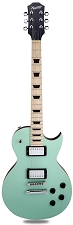 XV-500 Carved Top Flamed Surf Green Maple Fingerboard