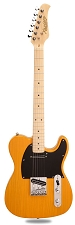 XV-830 Solid Ash Butterscotch maple Neck Humbucker Kwikplug Equipped