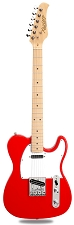 XV-830 Fiesta Red Solid Alder Body Maple F/B Humbucker Kwikplug Equipped