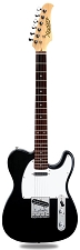 XV-830 Black Solid Alder Body Rosewood F/B Humbucker Kwikplug Equipped