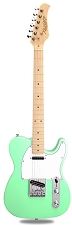 XV-830 Surf Green Solid Alder Body Maple F/B Humbucker Kwikplug Equipped